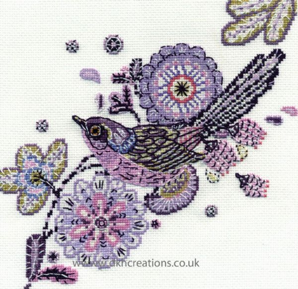 Fan Tailed Friend Cross Stitch Kit